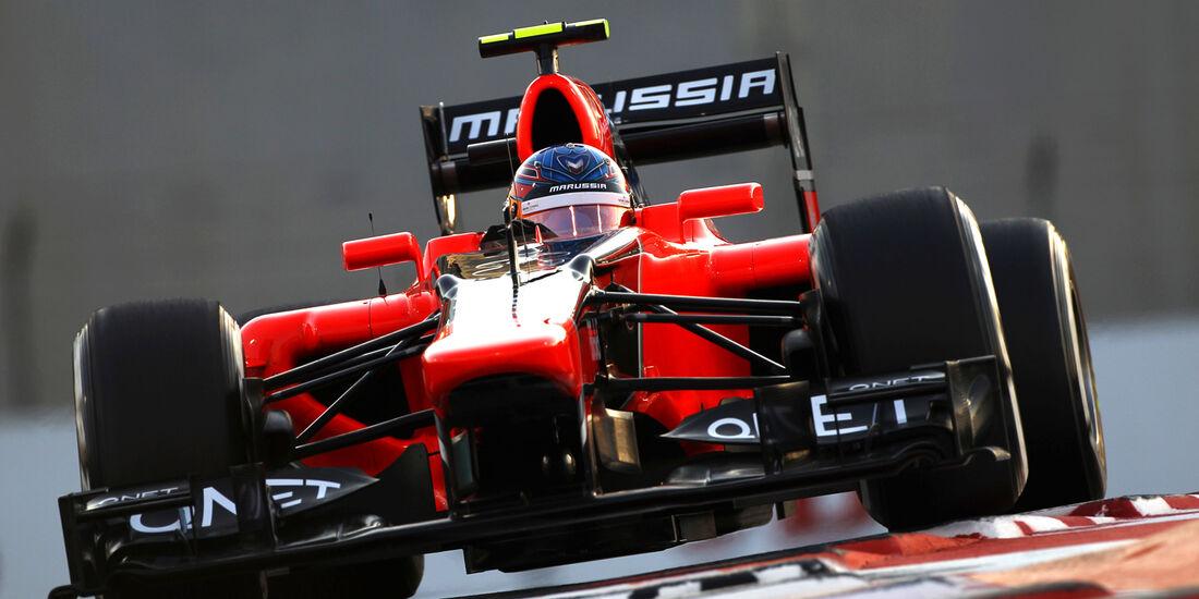 Charles Pic GP Abu Dhabi 2012