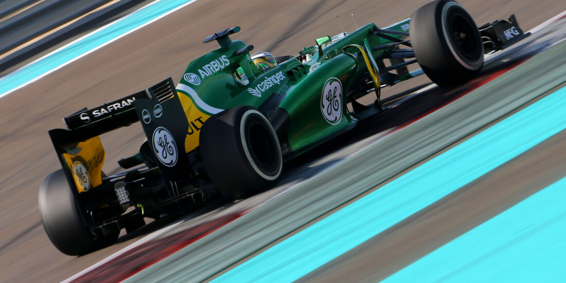 Charles Pic - GP Abu Dhabi 2013