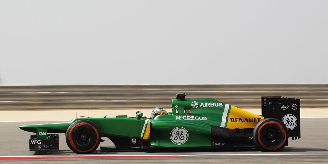 Charles Pic - GP Bahrain 2013