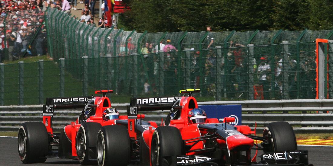 Charles Pic GP Belgien 2012