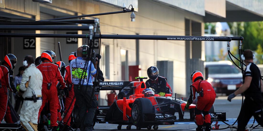 Charles Pic GP Japan 2012