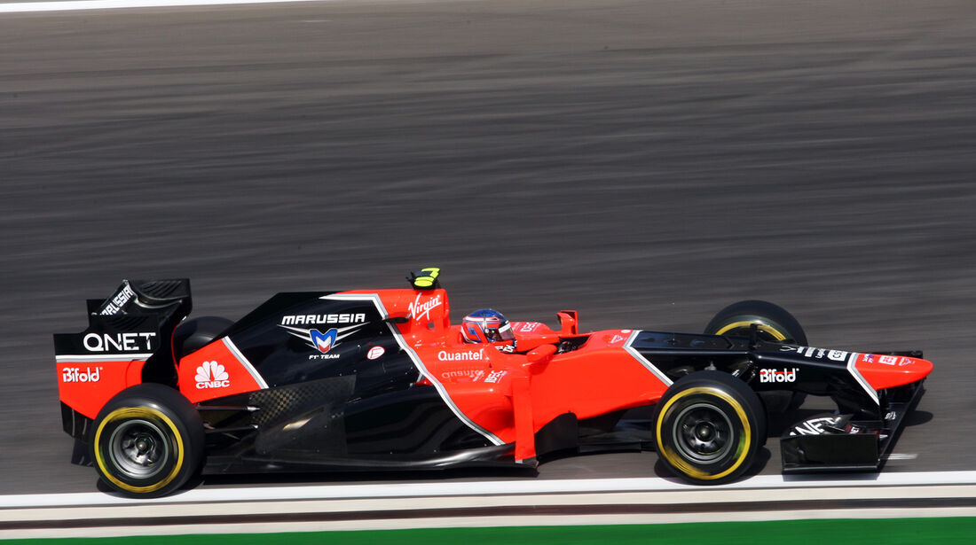 Charles Pic - Marussia - Formel 1 - GP Korea - 12. Oktober 2012