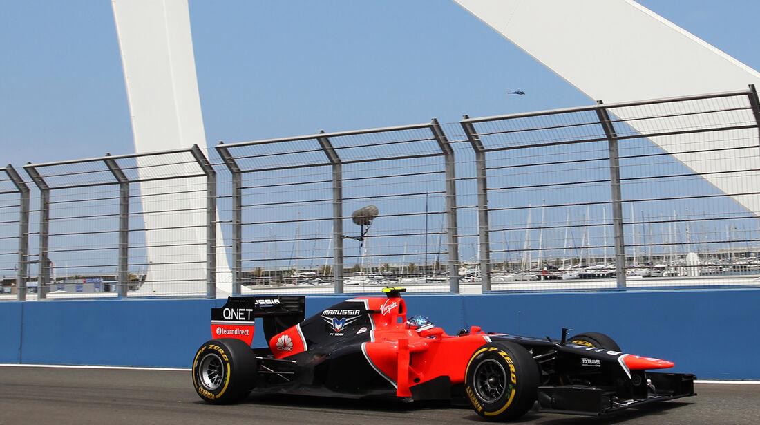 Charles Pic - Marussia - GP Europa - Valencia - Formel 1 - 22. Juni 2012