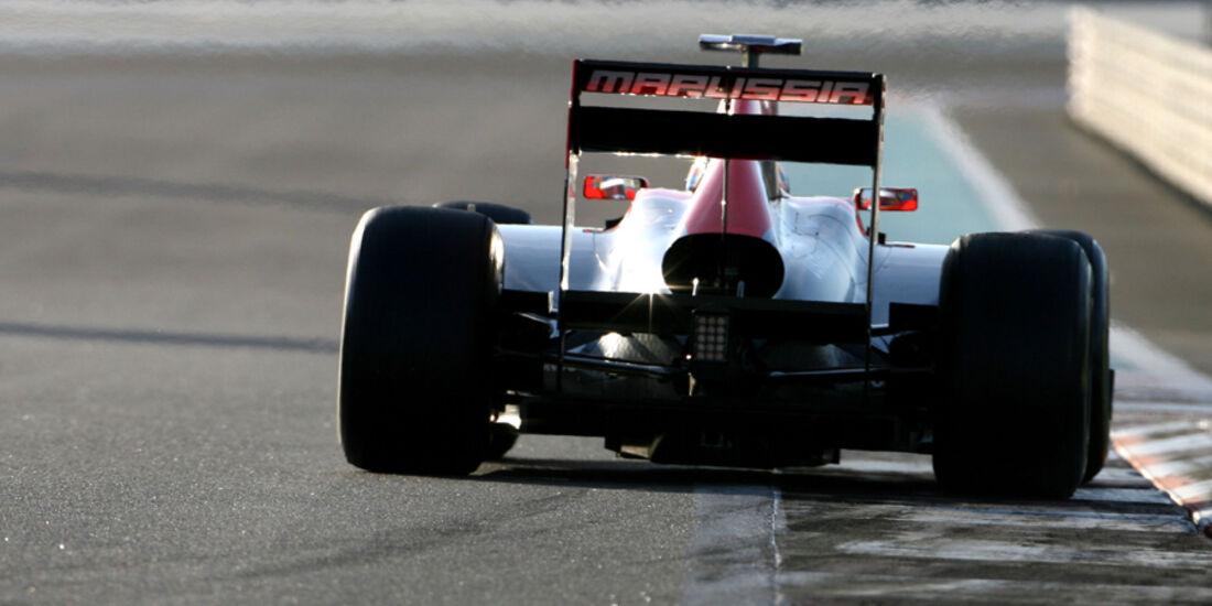 Charles Pic Young Driver Test Abu Dhabi 2011