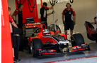 Charles Pic Young Driver Test Abu Dhabi 2011