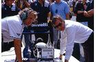 Charlie Whiting - Brabham - GP Italien 1986