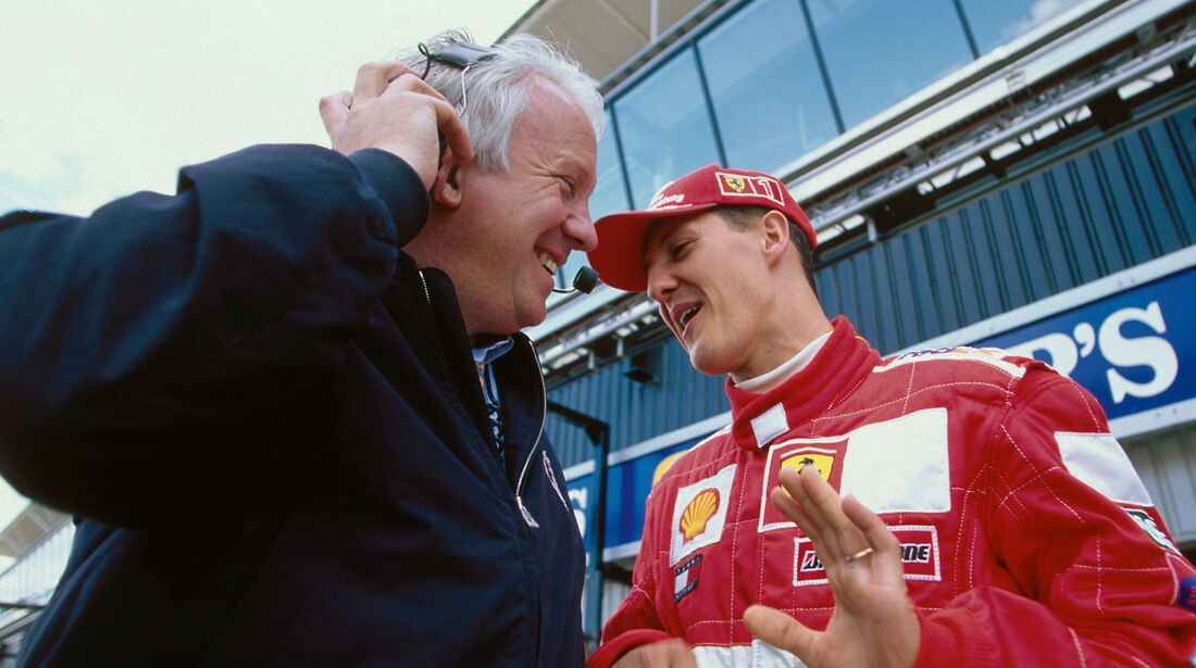 Charlie Whiting - Formel 1 - 2001