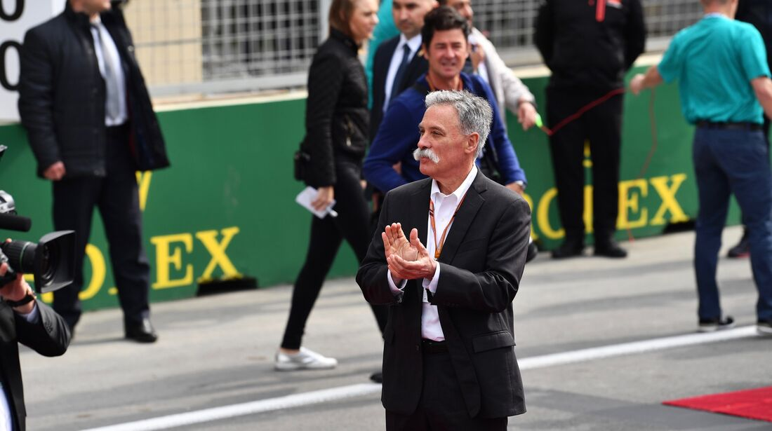 Chase Carey - Formel 1 - GP Aserbaidschan - 29. April 2018