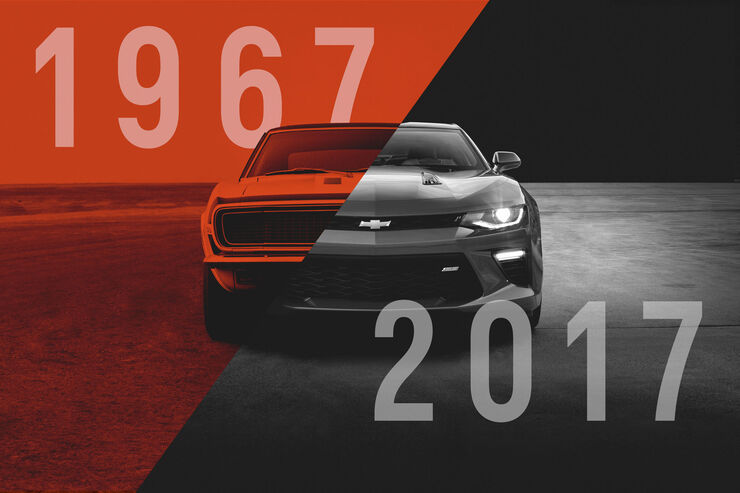 Chevrolet Camaro - 50 Jahre - Muscle Car - Pony Car