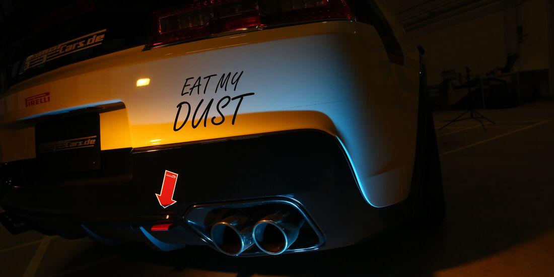 Chevrolet Camaro, Auspuff, Endrohre