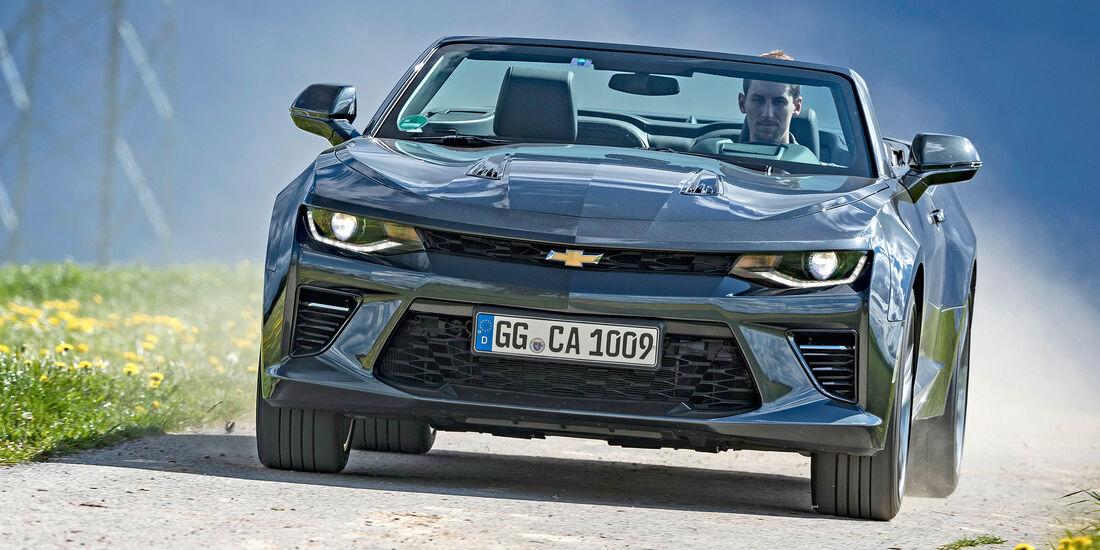 Chevrolet Camaro Cabrio V8 - Serie - Cabrios bis 100000 Euro - sport auto Award 2019