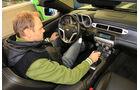 Chevrolet Camaro Cabriolet 6.2 V8, Cockpit