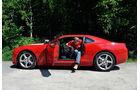 Chevrolet Camaro, Einstieg, Fond