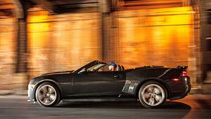 Chevrolet Camaro ZL1 Cabrio, Seitenansicht