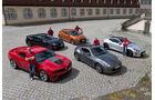Chevrolet Camaro ZL1, Hyundai Veloster Turbo, Jaguar F-Type Coupé S, Toyota GT86