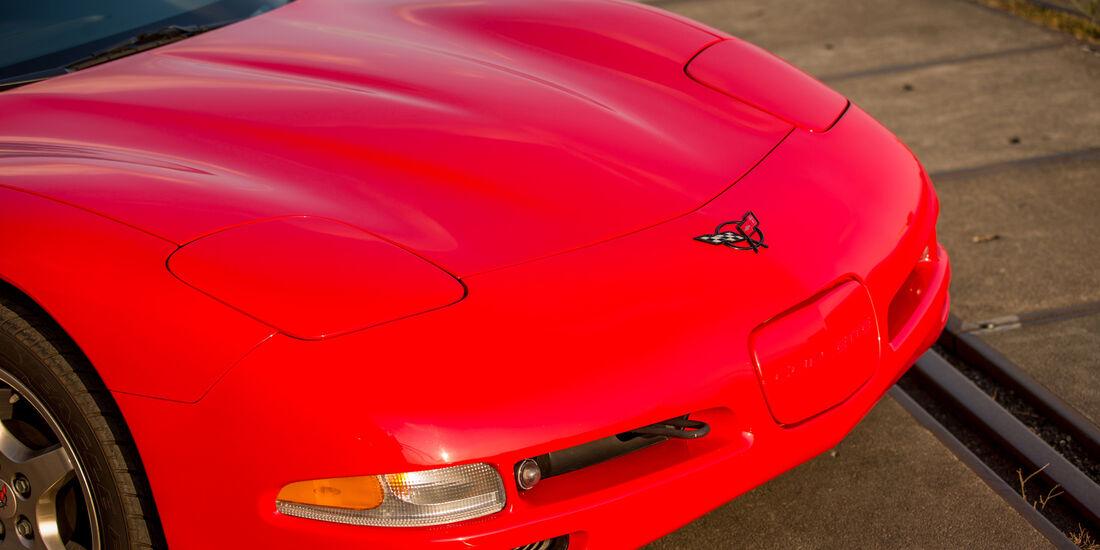 Chevrolet Corvette C5, Motorhaube
