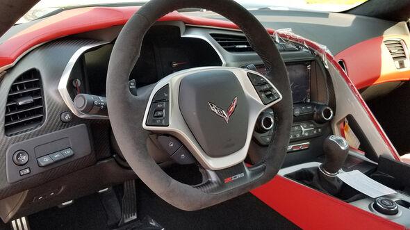 Chevrolet Corvette C7 front-engine, last built, 2019