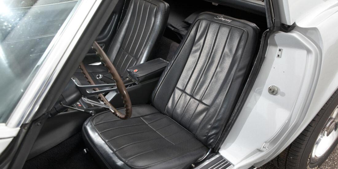 Chevrolet Corvette, Fahrersitz