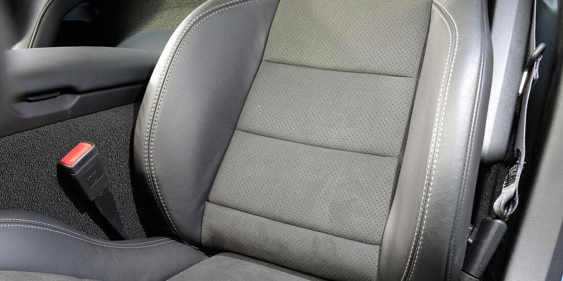 Chevrolet Corvette Grand Sport, Fahrersitz