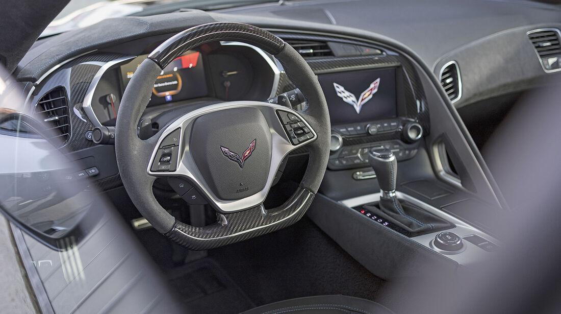 Chevrolet Corvette Grand Sport, Inteieur