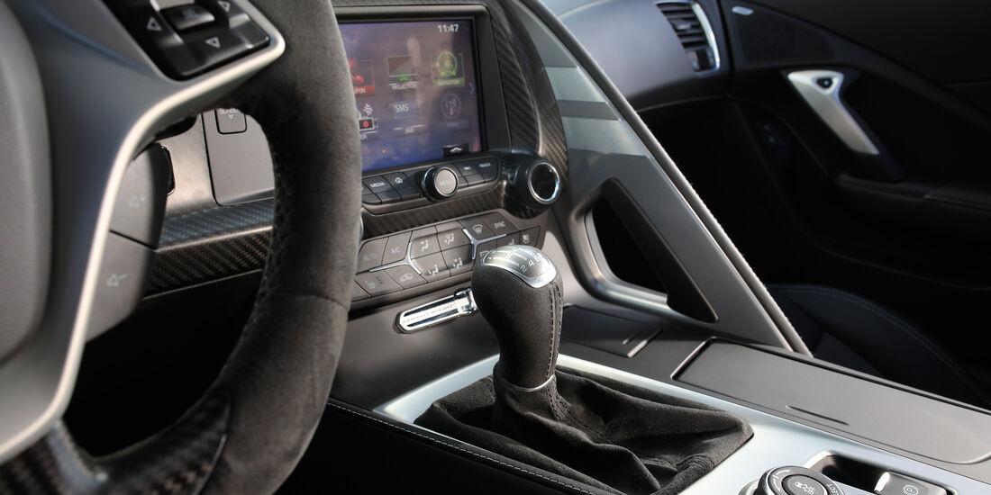 Chevrolet Corvette Grand Sport, Schalthebel