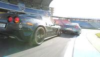 Chevrolet Corvette Z06, Nissan GT-R, Heck