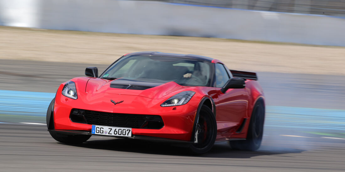 Chevrolet Corvette Z06 Z07 Performance, Frontansicht