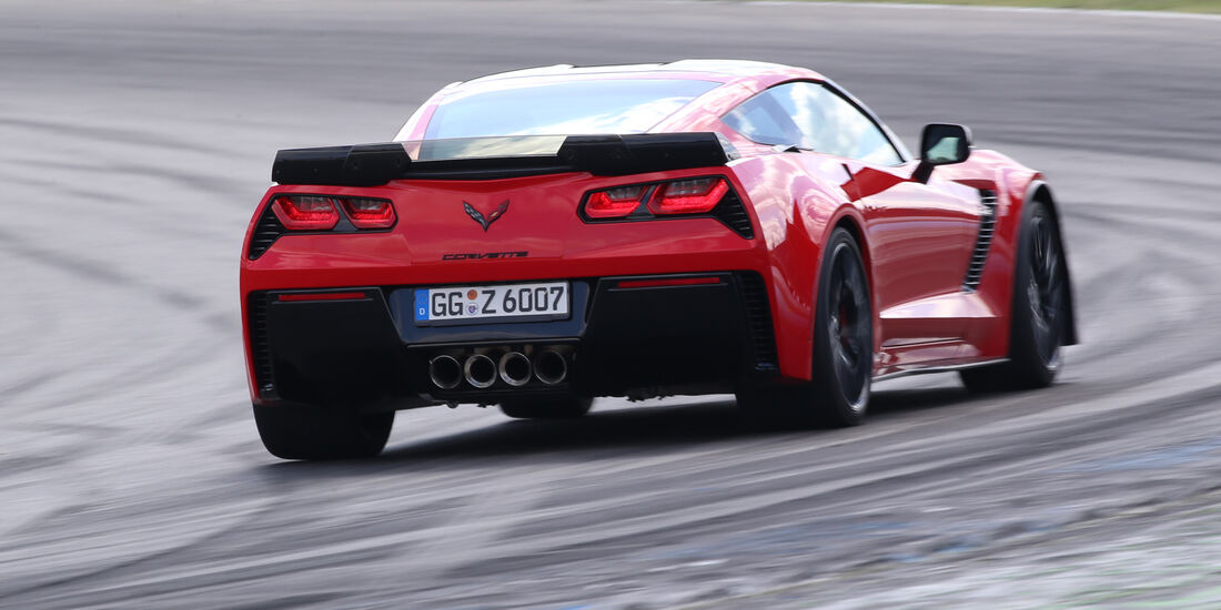 Chevrolet Corvette Z06 Z07 Performance, Heckansicht