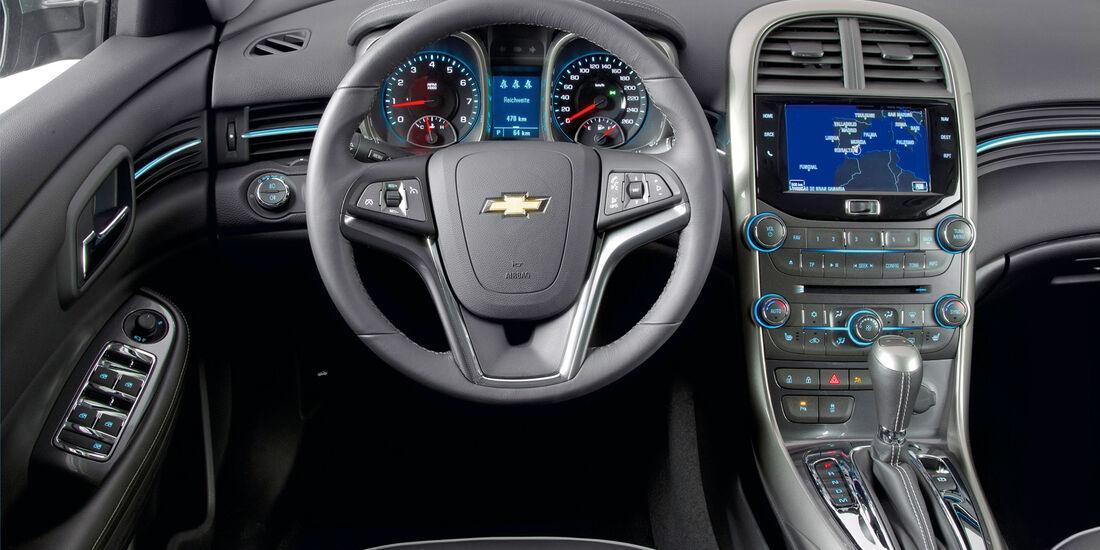 Chevrolet Malibu, Cockpit, Lenkrad