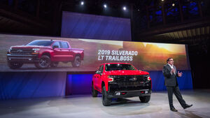 Chevrolet Silverado Modelljahr 2019 Premiere in Detroit