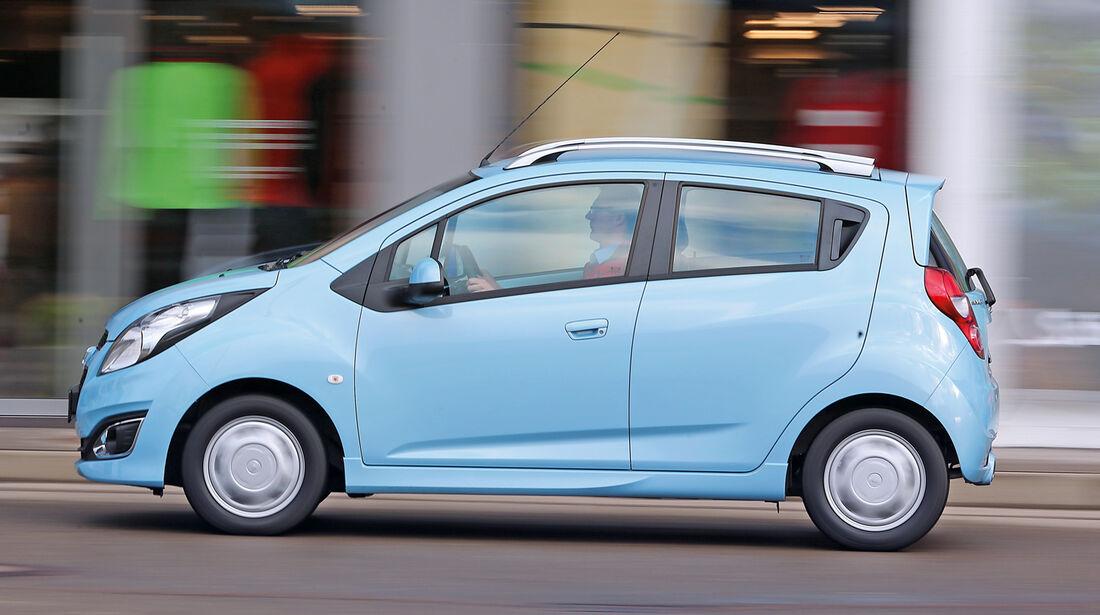 Chevrolet Spark 1.2, Seitenansicht