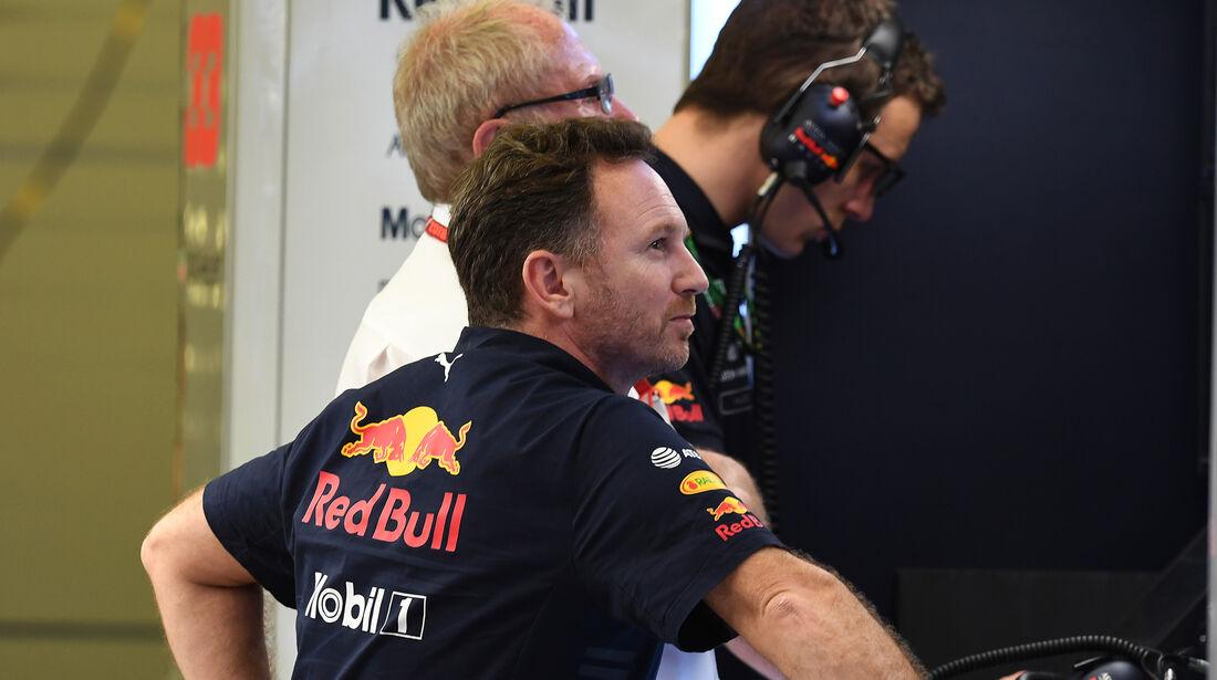 Christian Horner - Formel 1 - GP Bahrain 2018