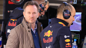 Christian Horner - Red Bull - Barcelona - F1-Test - 18. Februar 2019