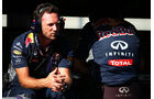 Christian Horner - Red Bull - Formel 1 - GP Belgien - Spa-Francorchamps - 21. August 2015
