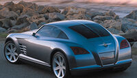 Chrysler Crossfire, Concept Car, Coupe, Heck