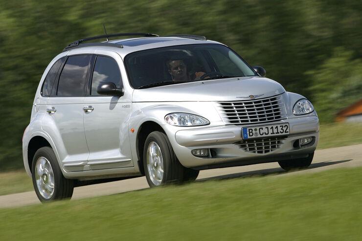 Chrysler PT Cruiser 2.4, Frontansicht