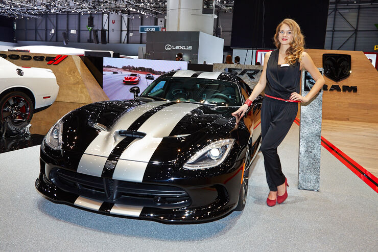 Chrysler SRT Viper, Genfer Autosalon, Messe 2014