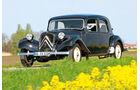 Citroën 11 CV Typ B, Seitenansicht