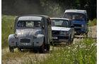 Citroën AK 350, Volvo 240, VW T3 Westfalia Joker, Frontansicht