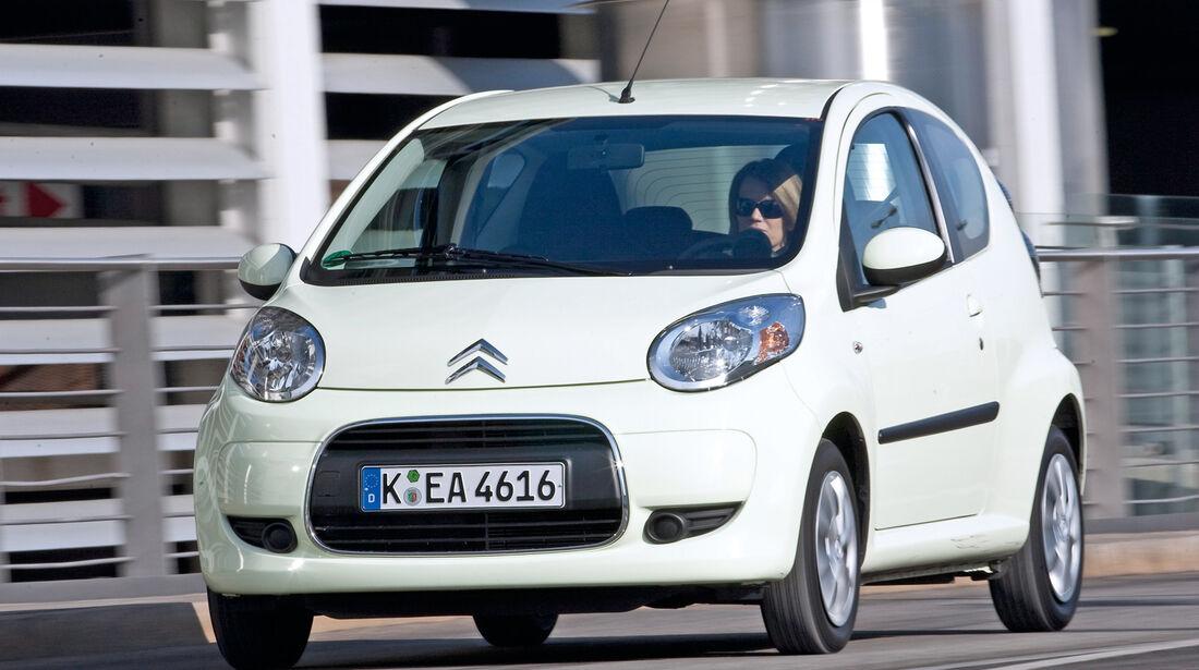 Citroën C1, Frontansicht