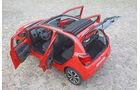 Citroën C1, Heckansicht, Türen offen