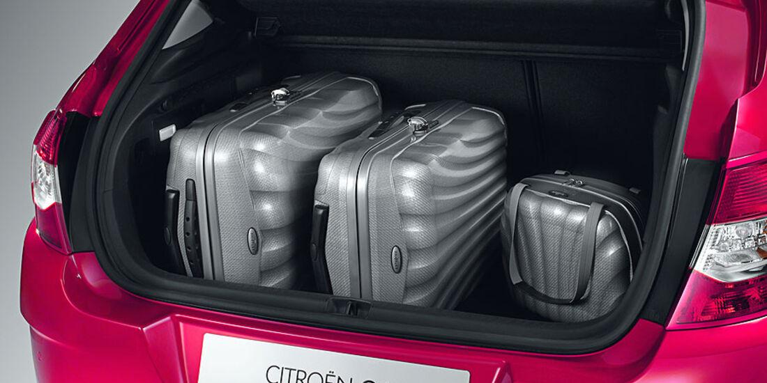 Citroën C4, Kofferraum