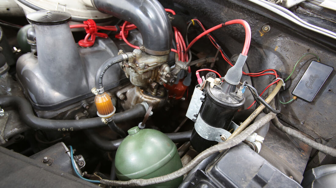 Citroën DS, Motor
