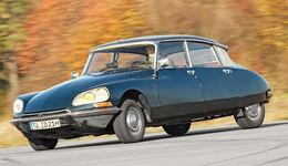 Citroën DS, Seitenansicht