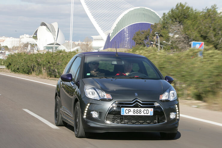 Citroën DS3 Cabrio, Frontansicht