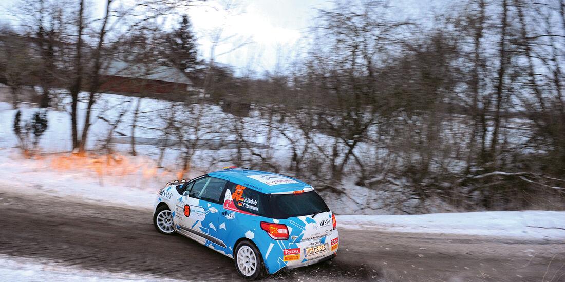 Citroën-DS3-Cup, Kurvenfahrt