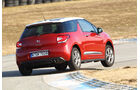 Citroën DS3 THP 155 Sport Chic, Seitenansicht, Kurvnfahrt