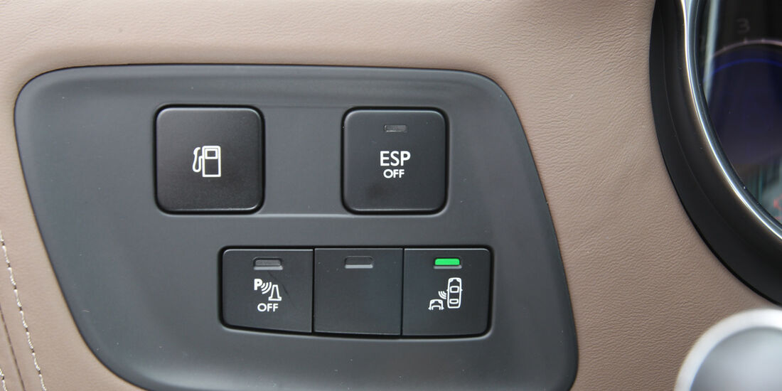 Citroën DS4 THP 200, Bedienelemente