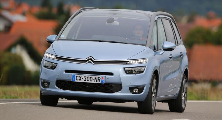 Citroën Grand C4 Picasso BlueHDi 150, Frontansicht