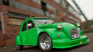 Citroen 2CV retro Tuning